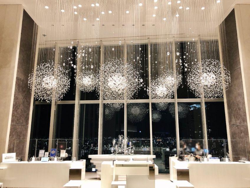 大阪マリオット都ホテルの夜景