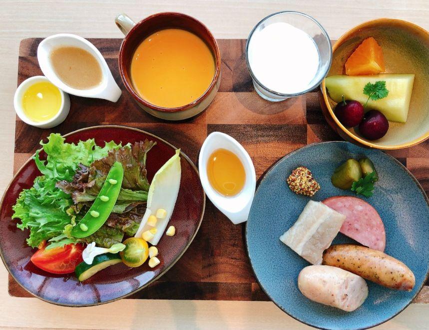 COOKAの朝食