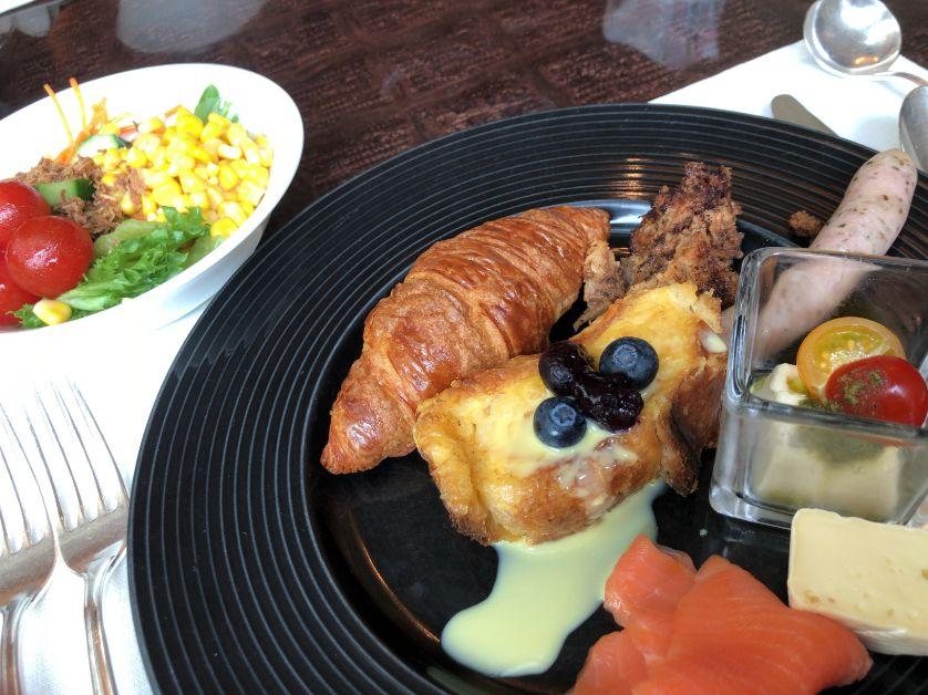 ウェスティン東京の朝食