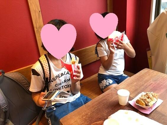 大阪観光たこ焼き食べた