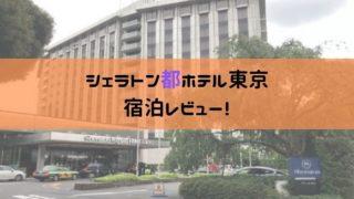 シェラトン都ホテル東京宿泊レビューの画像