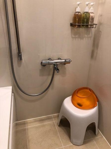 パークフロントホテルのバスルーム