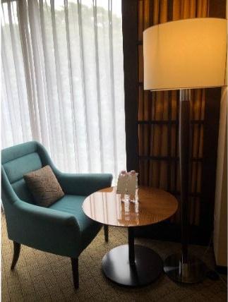 シェラトン都ホテル東京のプレミアムキング
