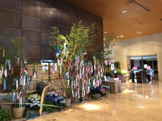 シェラトン都ホテル東京のフロント画像