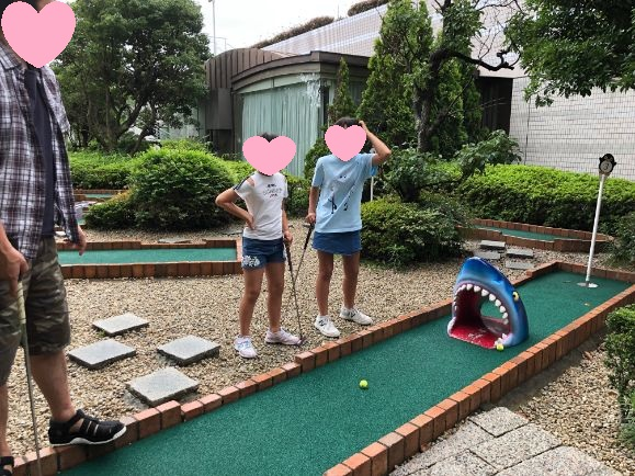 シェラトングランデトーキョーベイのパターゴルフ画像