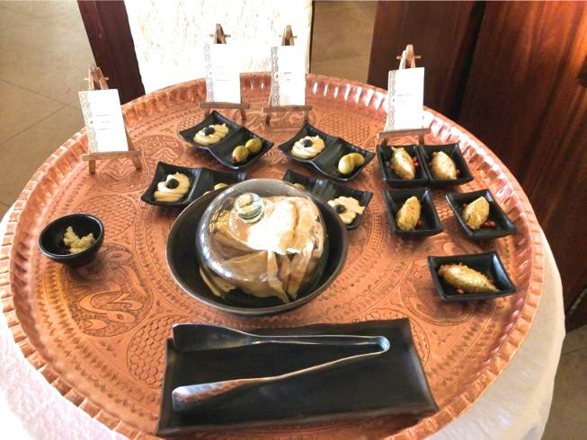 アルマハのレストラン朝食ビュッフェの内容