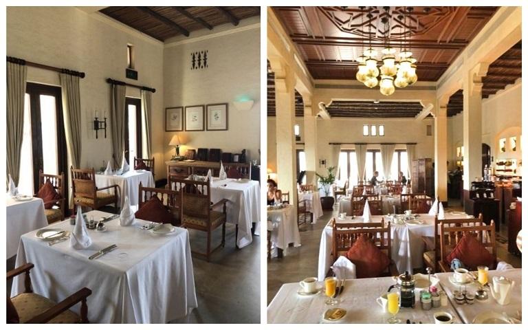 アルマハのレストラン、アルディワンの様子