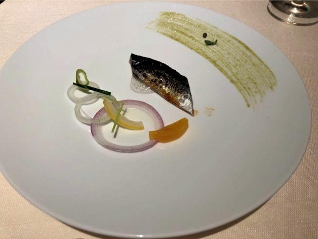 翠嵐ディナー紫翠の魚料理