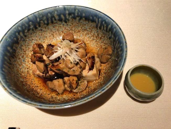 翠嵐ディナー紫翠の肉料理