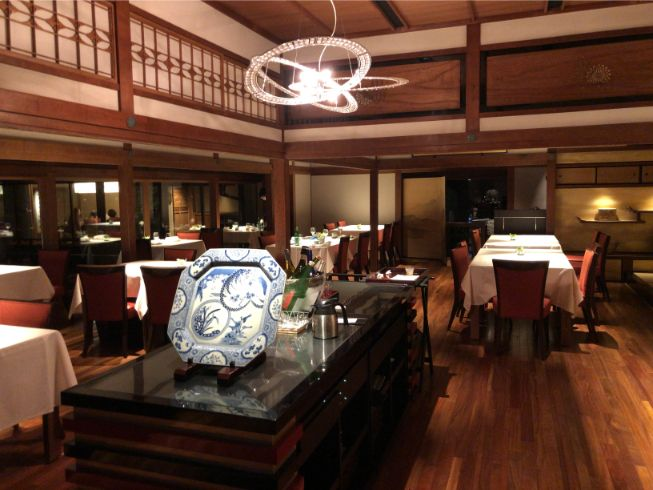 翠嵐のレストラン