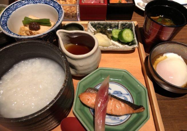 翠嵐の朝食和食メニュー