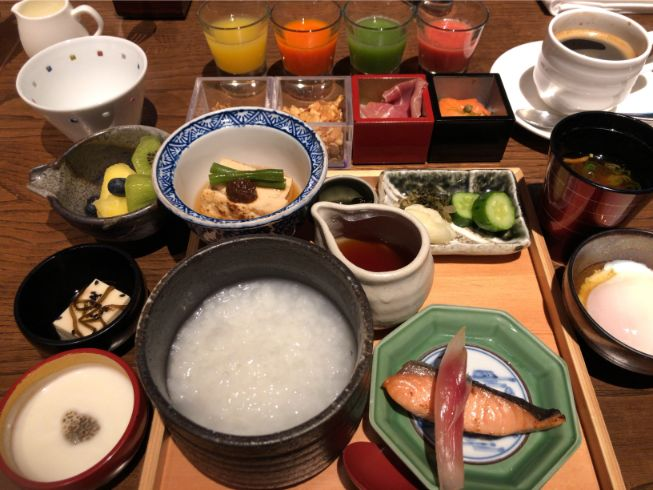 翠嵐の朝食和食全部