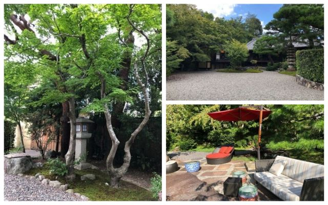 翠嵐の日本庭園