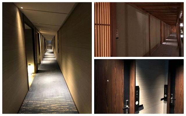 翠嵐ホテル内部の様子