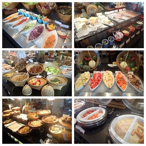 ルメリディアンバンコクの朝食内容