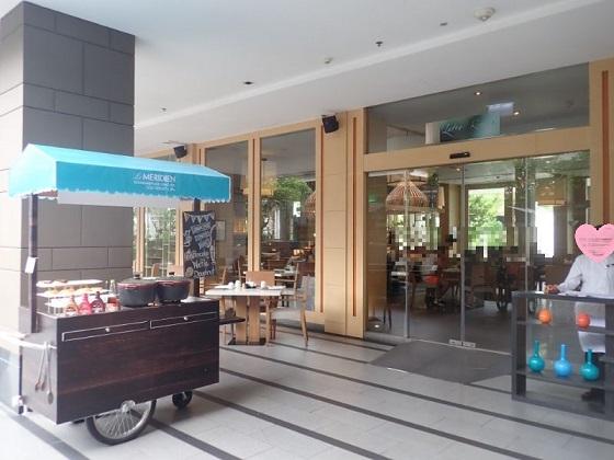 ルメリディアンバンコクの朝食会場