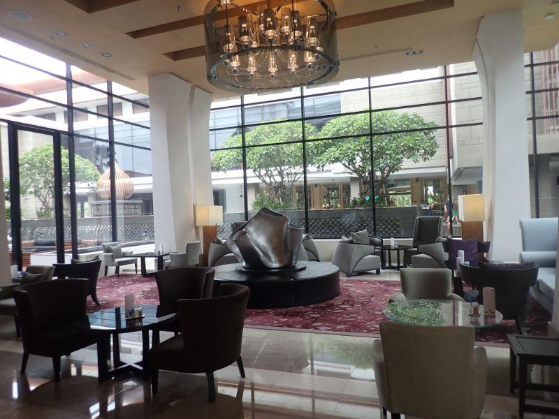 ルメリディアンスワンナプームホテル内部画像