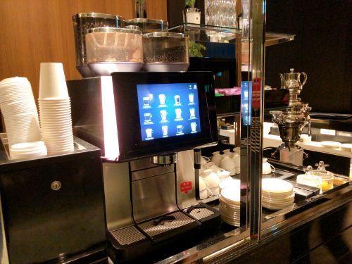 名古屋マリオットのクラブラウンジカクテルタイムのコーヒー