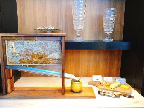 名古屋マリオットの朝食はちの巣