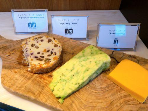 チーズ3種