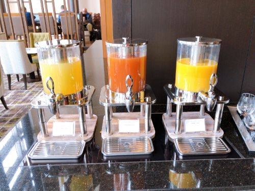 3種のジュース