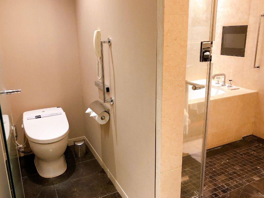 セントレジスのトイレ