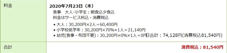 楽天サイトの杉乃井ホテル価格