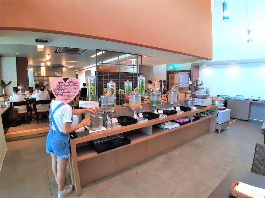 瀬長島ホテルの朝食バイキング