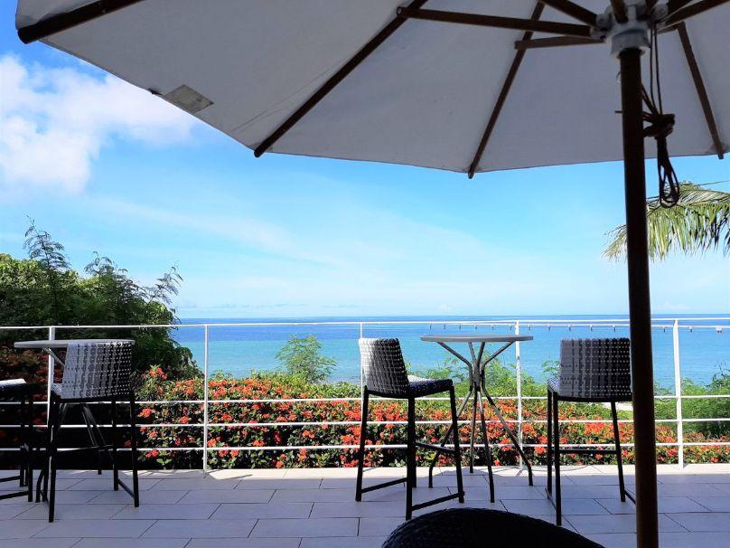 瀬長島ホテルカフェテラスからの眺め