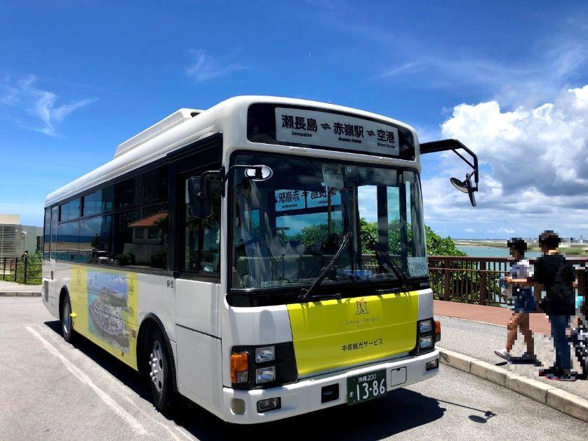瀬長島ホテル発のバス