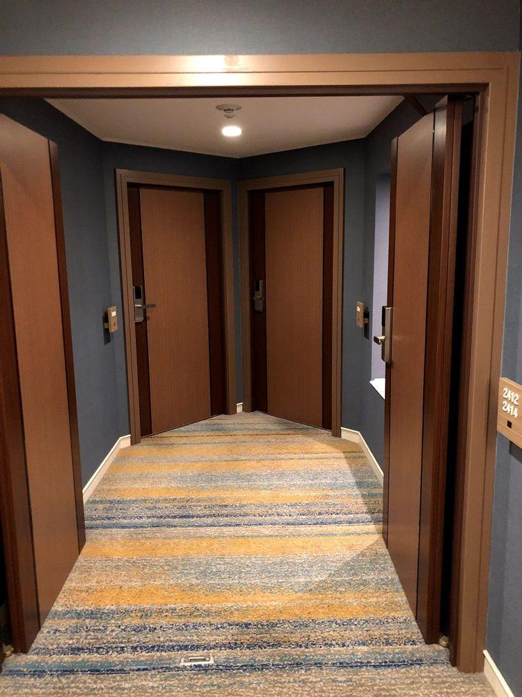クイーンファミリールームの入り口
