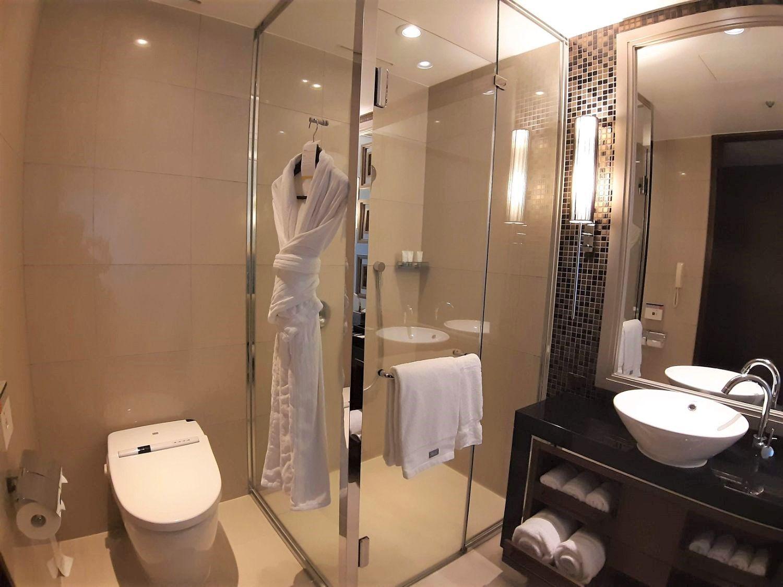 ウェスティン仙台のトイレとシャワー
