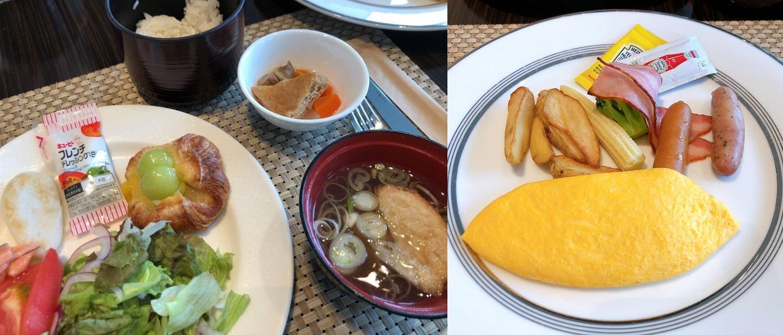 ウェスティン仙台の朝食