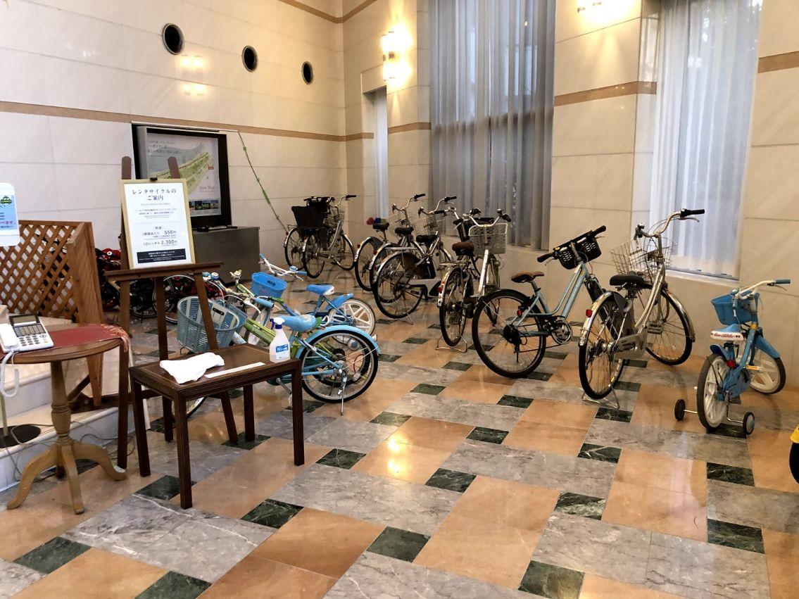 ラグゼ一ッ葉の自転車