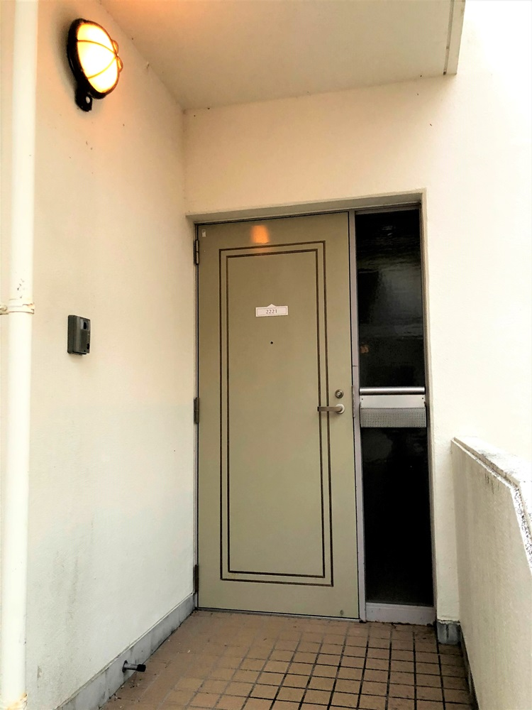 コテージヒムカ玄関