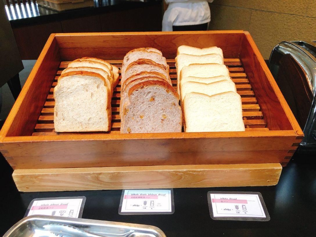 食パン、全粒粉、グルテンフリー