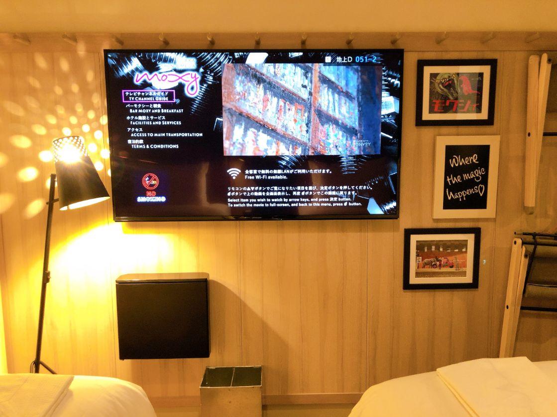 TVとおしゃれな壁