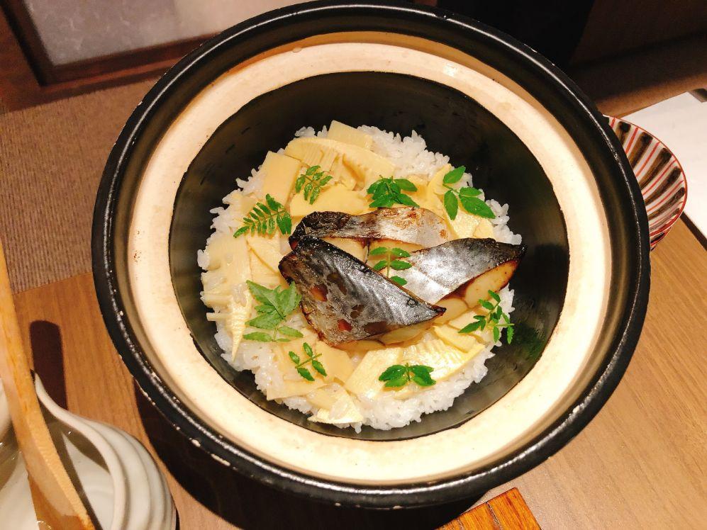 旬菜土鍋ごはん 鰆の西京焼き