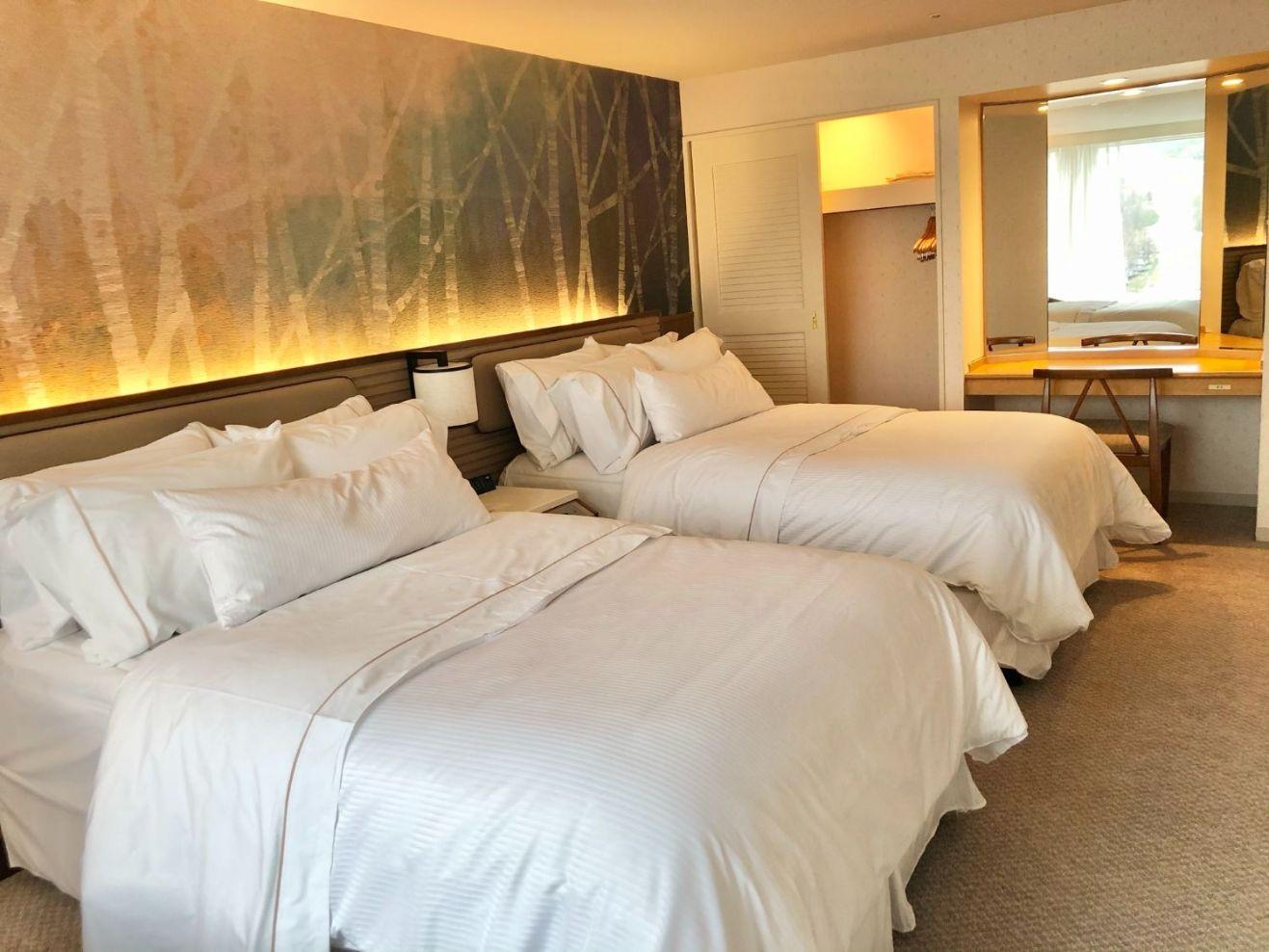 1階のベッドルーム