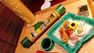 界別府の夕食