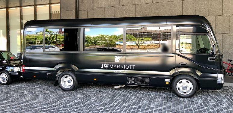 JWマリオット奈良のシャトルバス