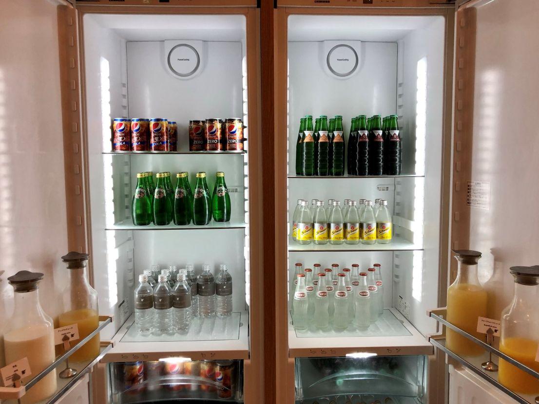 冷蔵庫のジュース