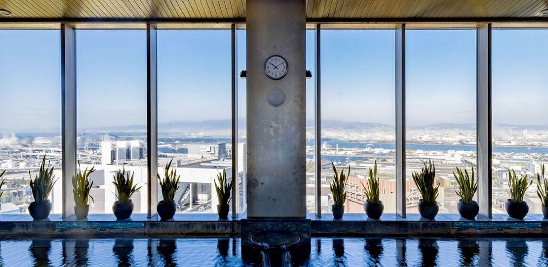 京阪ユニバーサルタワーの大浴場
