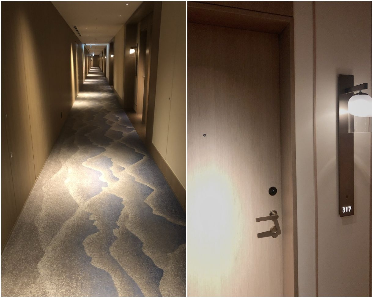 JWマリオット奈良の廊下